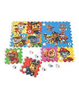 PAW PATROL Floor Mat Puzzle 12 Pcs