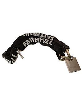 1m Chain & Padlock