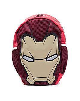 MARVEL Iron Man Shaped Mask Backpack