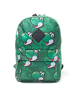 Super Mario Bros. Yoshi Face Backpack