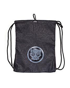MARVEL Black Panther Logo Gymbag