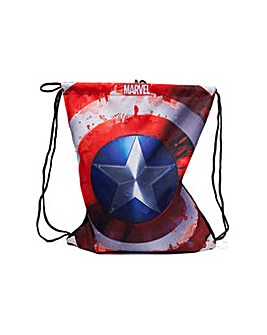 MARVEL Captain America Shield Gymbag