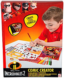 The Incredibles Comic Book Creator