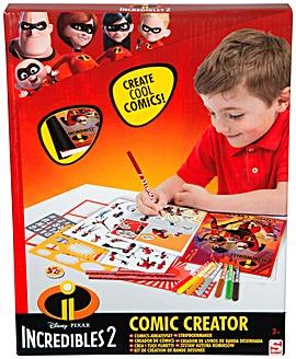 The Incredibles Comic Book Creator