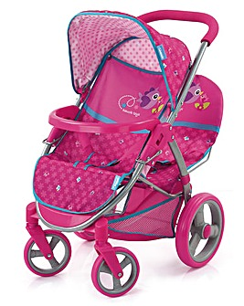 Hauck Birdie Malibu Doll Twin Stroller