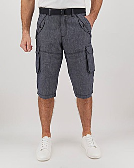 Joe Browns Chambray 3/4 Short