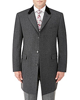 Skopes Gresham Charcoal Overcoat