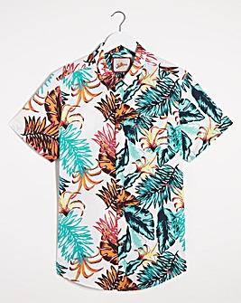Joe Browns Tropical Leaf Shirt Long
