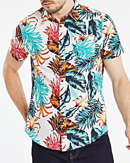 Joe Browns Tropical Leaf Shirt Long