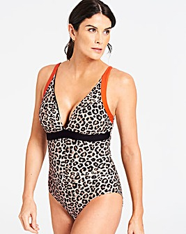 Animal Print Swimsuit