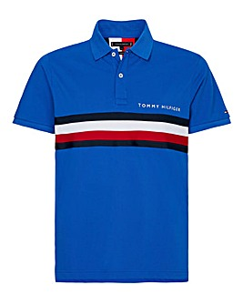 Tommy Hilfiger Chest Tape Polo