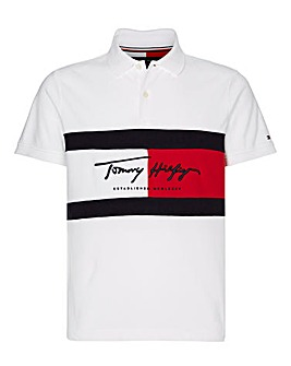Tommy Hilfiger Autograph Flag Polo