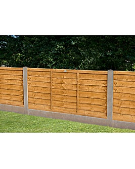 Forest Trade Lap Fence Panels Pack 3