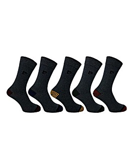Pierre Cardin 5 Pack Striped Socks