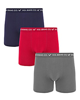 Voi Three Pack Of Boxers