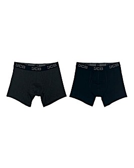 JCB 2 Pack Mens Core Boxer Short