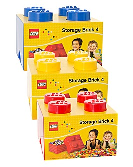LEGO Stackable Storage 4 Brick Box