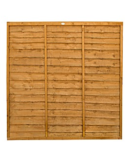 Forest Trade Lap Fence Panels Pack of 3