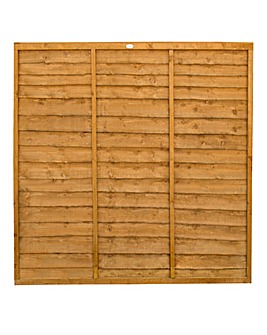 Forest Trade Lap Fence Panel Pack 5