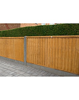 Pack of 3 Closeboard Fence Panels