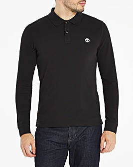 Timberland Long Sleeve Millers River Pique Polo