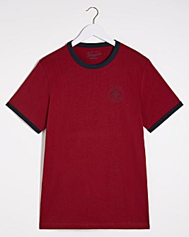 Original Penguin Panel Ringer T-Shirt