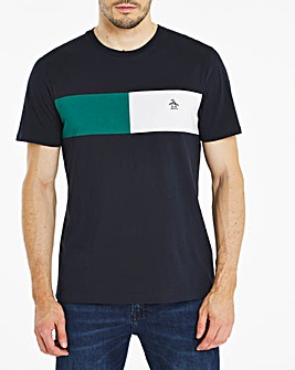 Original Penguin Colour Block T-Shirt