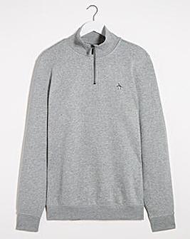 Original Penguin Quater Zip Sweatshirt