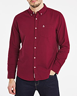 Original Penguin Long Sleeve Poplin Shirt