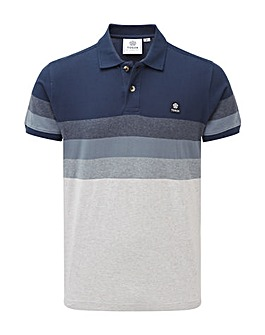 Tog24 Derwent Mens Stripe Polo Shirt