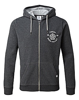Tog24 Hetton Mens Zip Hoody York Print