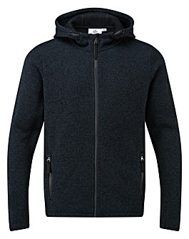 Tog24 Cropton Mens Knitlook Fleece