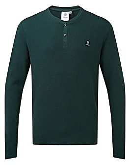 Tog24 Drewton Mens Grandad T-Shirt