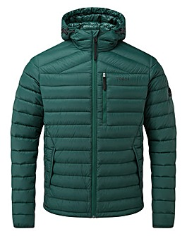 Tog24 Base Mens Hooded Down Jacket