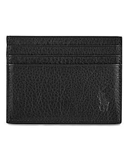 Polo Ralph Lauren Black Leather Card Holder