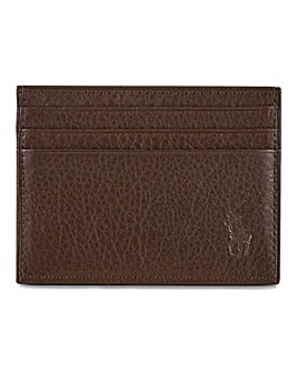 Polo Ralph Lauren Brown Leather Card Holder
