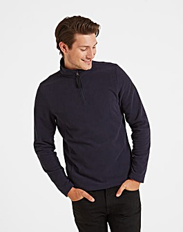 Tog24 Shire Mens Fleece Zip Neck