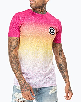 Hype Ibiza Speckle Fade T-Shirt Long