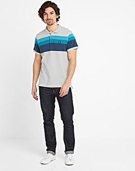 Tog24 Ramsden Mens Stripe Polo Shirt
