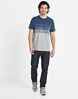 Tog24 Freeman Mens Striped T-Shirt