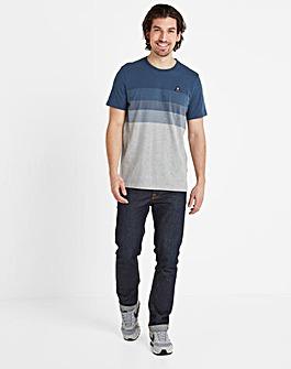 Tog24 Freeman Mens Striped T-Shirt