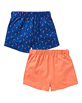 KD Girls Pack of Two Shorts