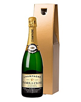 Personalised Champagne in a Gift Box
