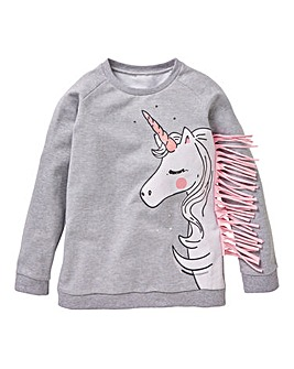 KD Girls Unicorn Sweatshirt