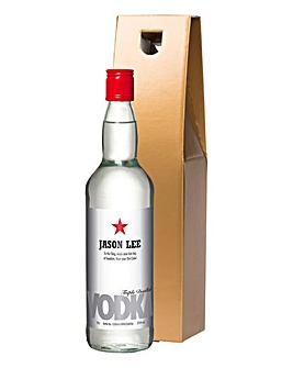 Personalised Vodka in a Gold Gift Box