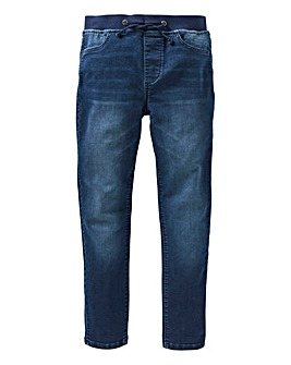 KD Boys Jersey Pull On Jean