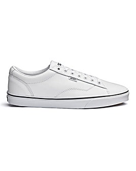 Vans Mens Dawson White Leather Trainer