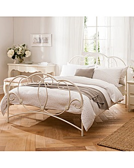 Daisy Kingsize Bed with Quilted Mattress