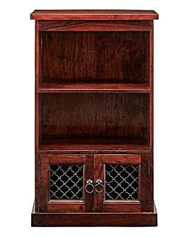 Jaipur Ready Assembled Solid Acacia Wood Display Unit