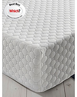 Silentnight 7 Zone Memory Foam Topped Rolled Mattress